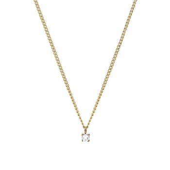 Ice Short Necklace Gold