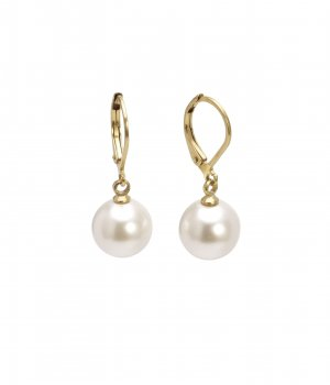 Shellpearl Earring White/Gold