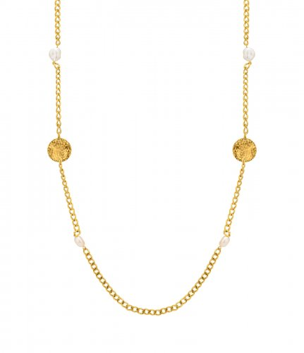Devious Long Necklace Gold