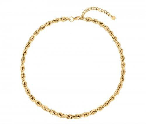 Twine Necklace Gold