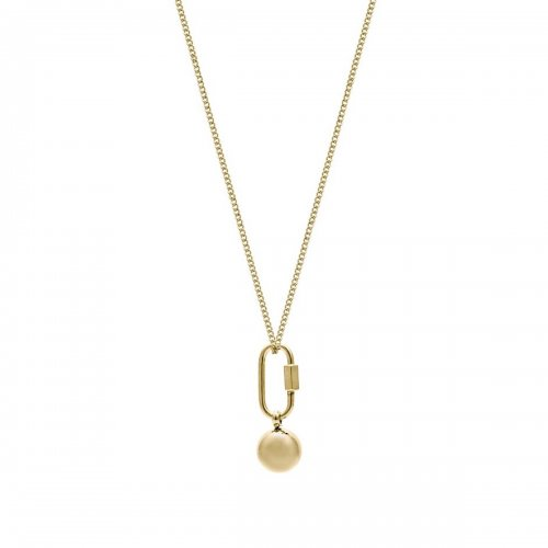 Nova Long Necklace Gold