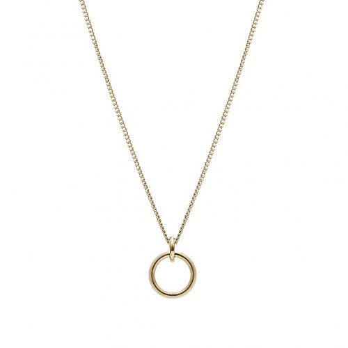 Horizon Long Necklace Gold