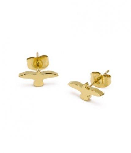 Dove Earring Gold