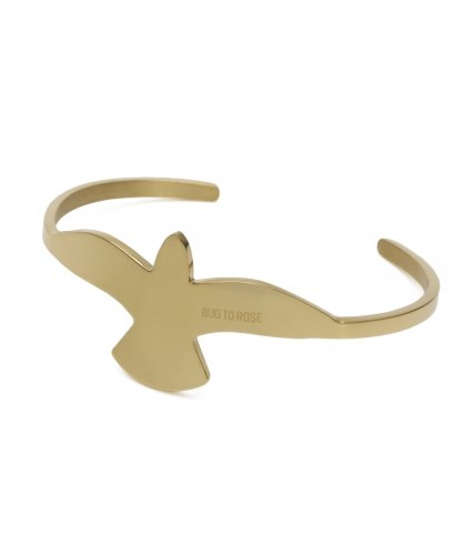 Big Dove Bracelet Gold