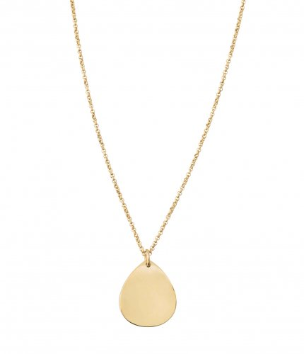Please Short Necklace Gold