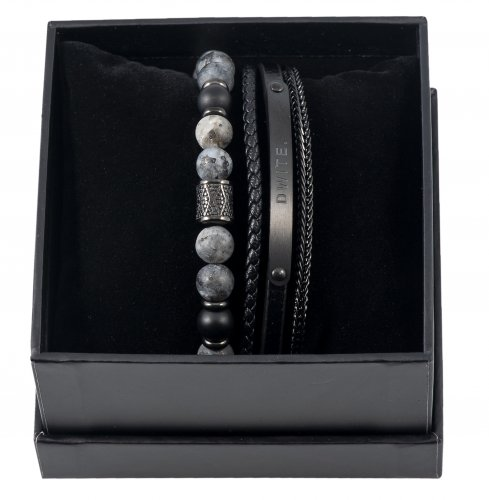 Duo Bracelet Black Set 3